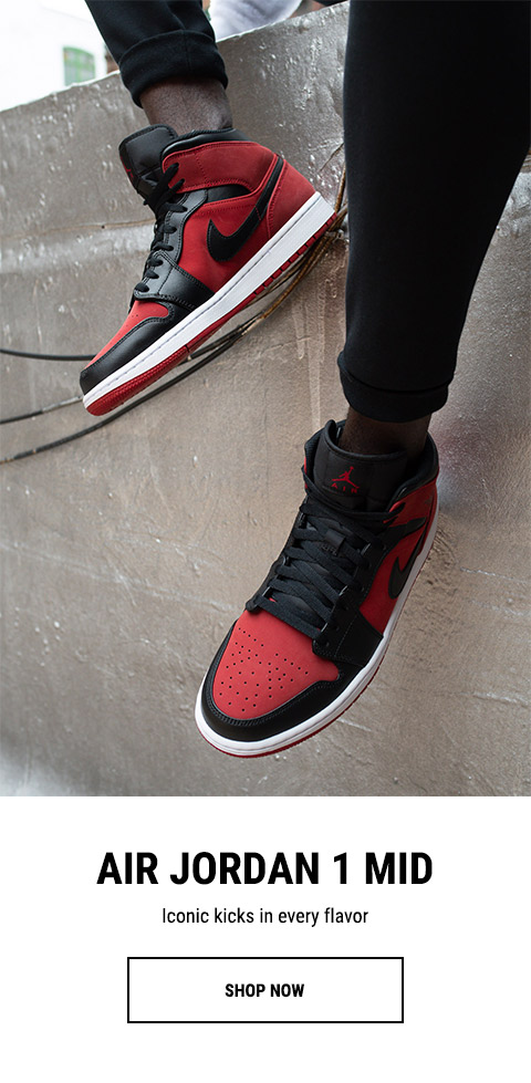 online store 647c7 4179b Choose your Air Jordan 1 Mid - Footaction Email Archive